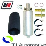 Walbro In-line External Fuel Pump & Hose Adaptors + Fitting Kit 5 bar GSL392